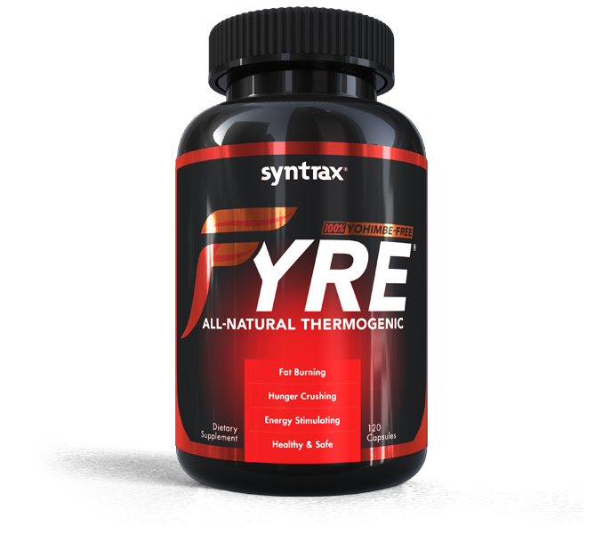 Syntrax® Fyre® - All-Natural Thermogenic
