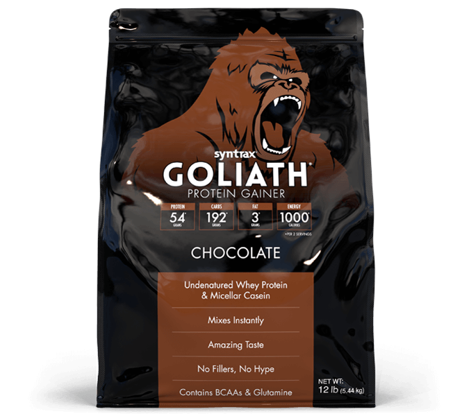 Syntrax® Goliath® Chocolate - Protein Gainer